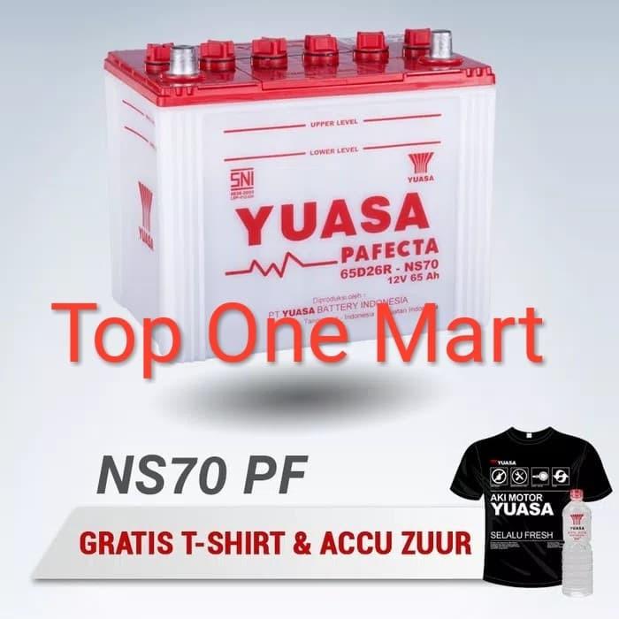 Jual Aki Mobil Yuasa Ns70 Ns70 Pf Pafecta Aki Basah Yuasa 65d26r Ns 70 Pf Kota Tangerang Selatan Top One Mart Tokopedia
