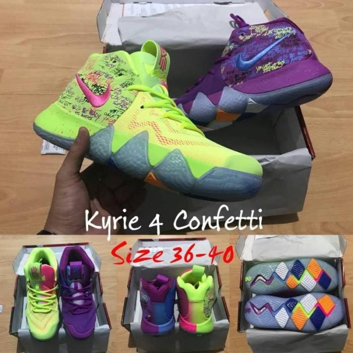 the latest 90f65 1a77f Jual sepatu basket anak gs yiuth kids nike kyrie 4 confetti grade original  - Kota Batam - vier sport | Tokopedia