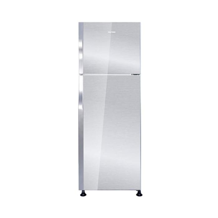 polytron prm 28qs belleza kulkas 2 pintu 240l - silver putih
