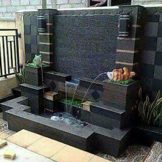kolam ikan portable minimalis