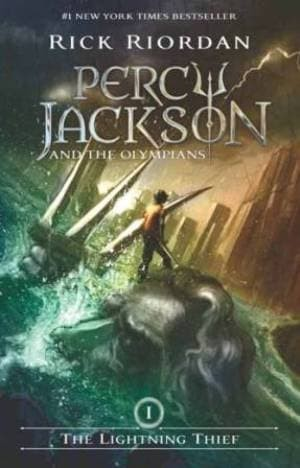 harga Percy jackson : the lightning thief (cover 8 th anni) rick riordan Tokopedia.com