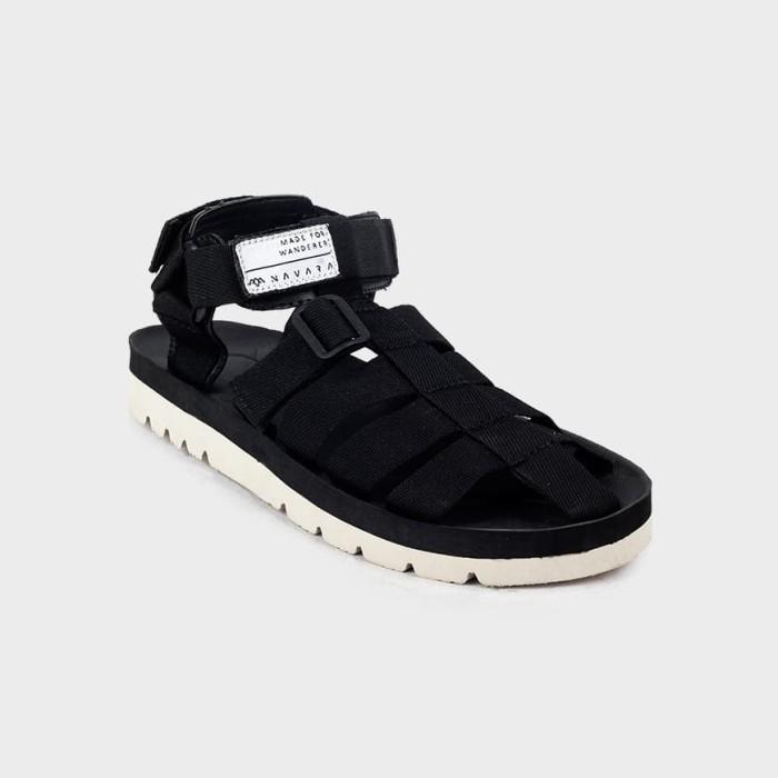 harga Sandal pria casual navara footwear woodley series model suicoke - hitam 43 Tokopedia.com