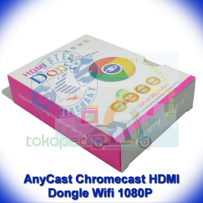 harga Anycast chromecast hdmi dongle wifi 1080p not google chrome miracast Tokopedia.com