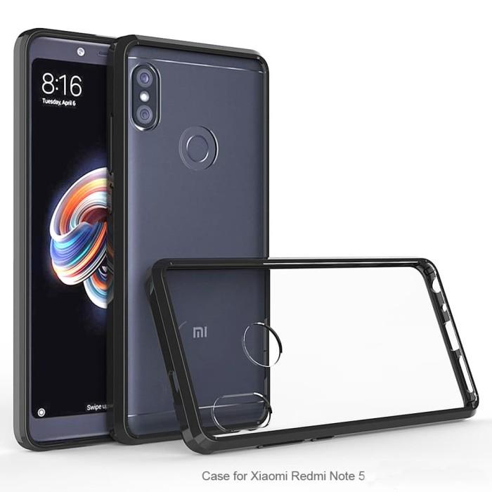 online store 7dd47 a234e Jual Air Hybrid Case Xiaomi Redmi Note 5 ala RINGKE Fusion Ultra SPIGEN -  Hitam - DKI Jakarta - Paulsgrave Studio | Tokopedia