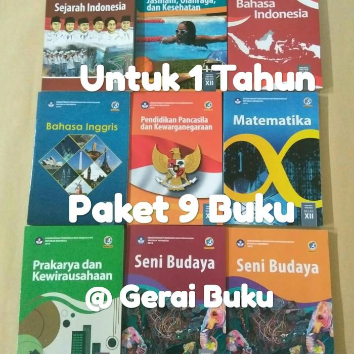 Foto Produk Paket Buku Kelas 12 SMA Kurikulum 2013 Revisi Terbaru (9 Buku) dari Gerai Buku Sekolah