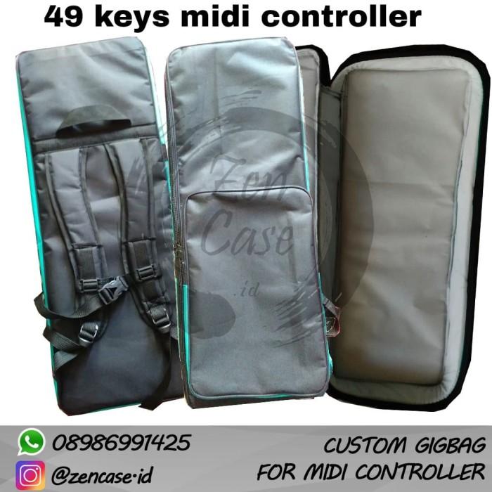 harga Custom gigbag case midi controller keyboard 49 keys Tokopedia.com