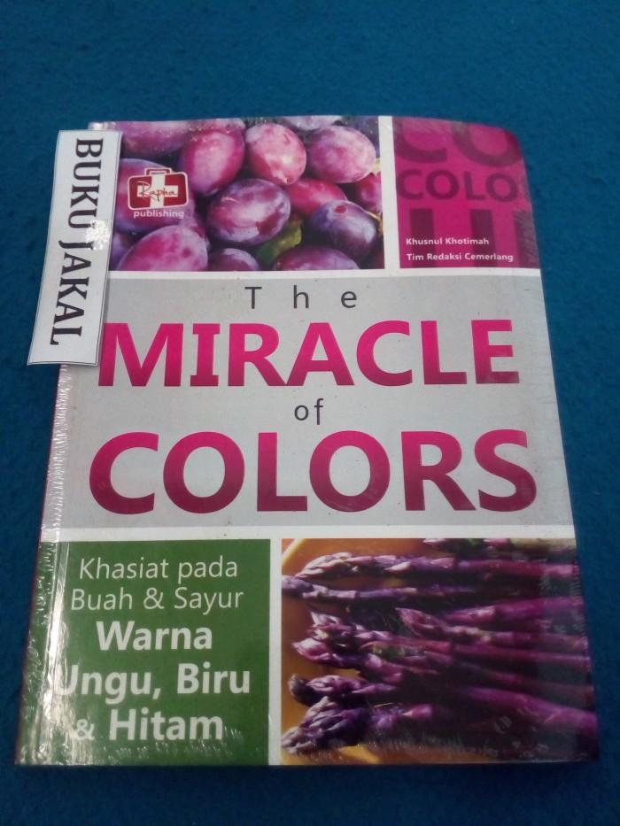 BUKU THE MIRACLE OF COLORS KHASIAT PADA BUAH & SAYUR WARNA UNGU BIRUmh