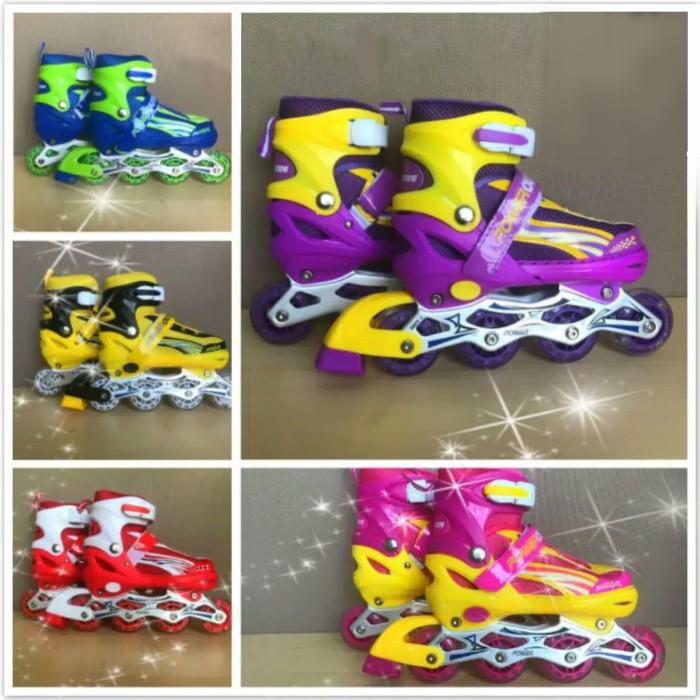 Jual Sepatu Roda Anak Power Inline Skate POWER SUPERB Model BAJAJ ... dc84e02de0