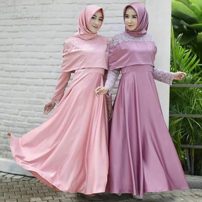 Jual Sabina Maxy Inspirasi Kebaya Dress Kebaya Muslim Dusty Kota Bandung Hijab In Square Tokopedia