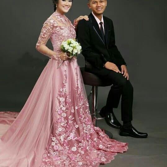 Jual Gaun Pernikahan Kebaya Pernikahan Gaun Nikah Kebaya Nikah Baju Nikah Jakarta Pusat Karya Shope Tokopedia