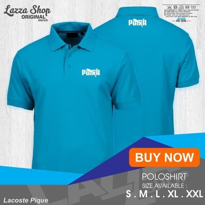 Foto Produk NEW Poloshirt / Polo Kaos / Baju Kerah Olahraga Puma Logo Keren dari CUSTOMWEAR.ID
