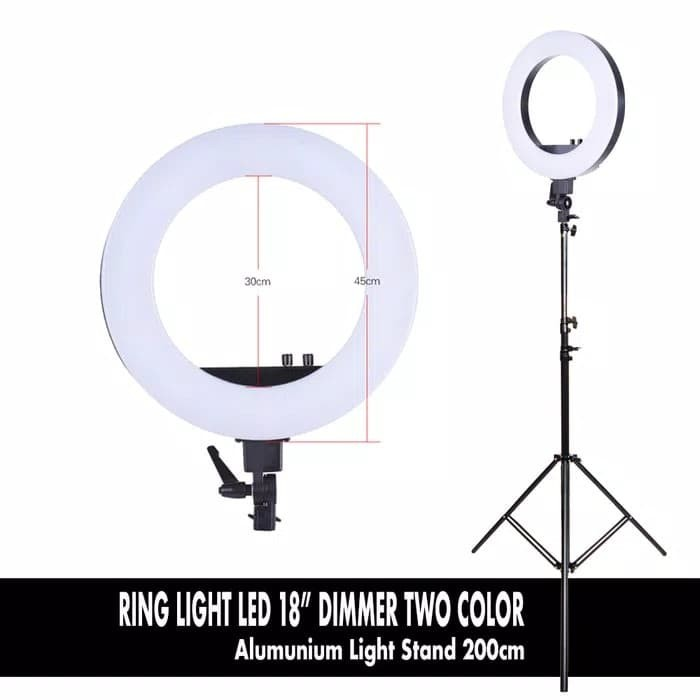 Beauty macro ring light with led