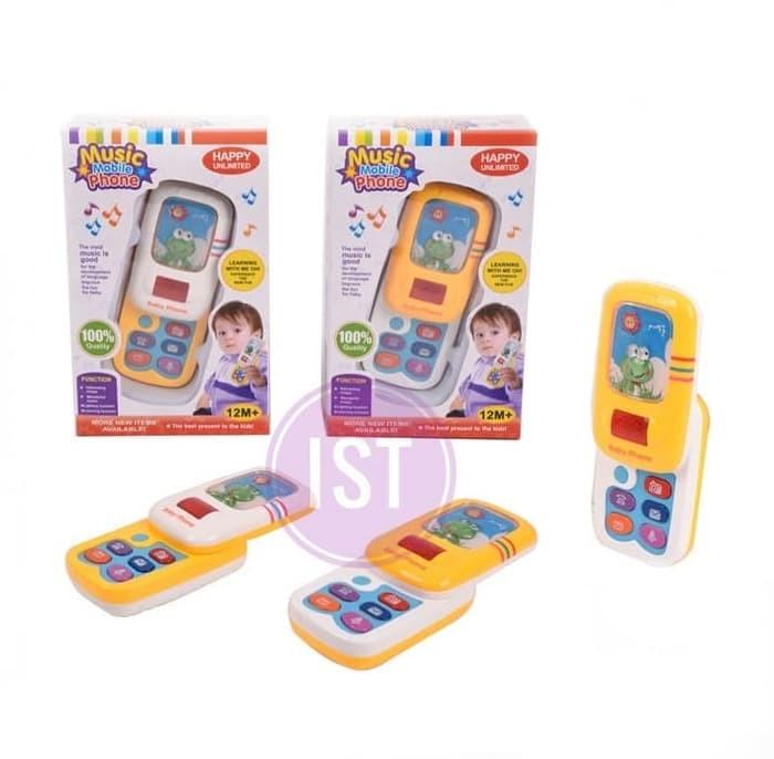 Jual Bayi Cerdas Dengan Musical Mobile Phone Handphone Mainan Lucu