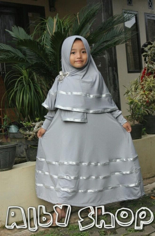 Baju Gamis Anak  u002F Busana Muslim Anak  u002F Baju Anak Perempuan a481d10889