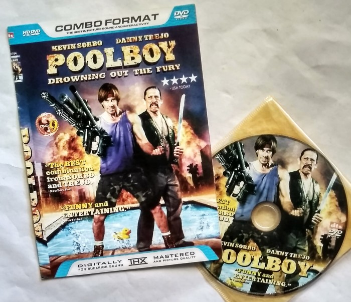 DVD Movie Poolboy - Drowning Out The Fury