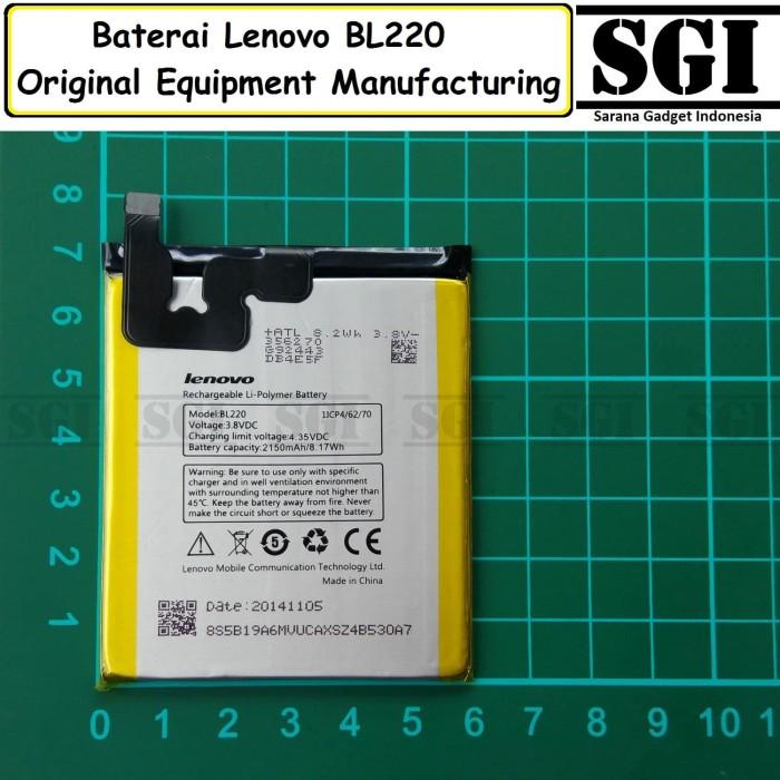 harga Baterai handphone lenovo bl220 s850 original oem batre batrai hp Tokopedia.com