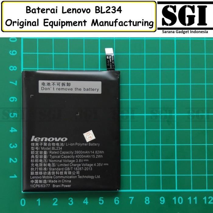 harga Baterai handphone lenovo bl234 p70 / p70t original oem batre batrai hp Tokopedia.com