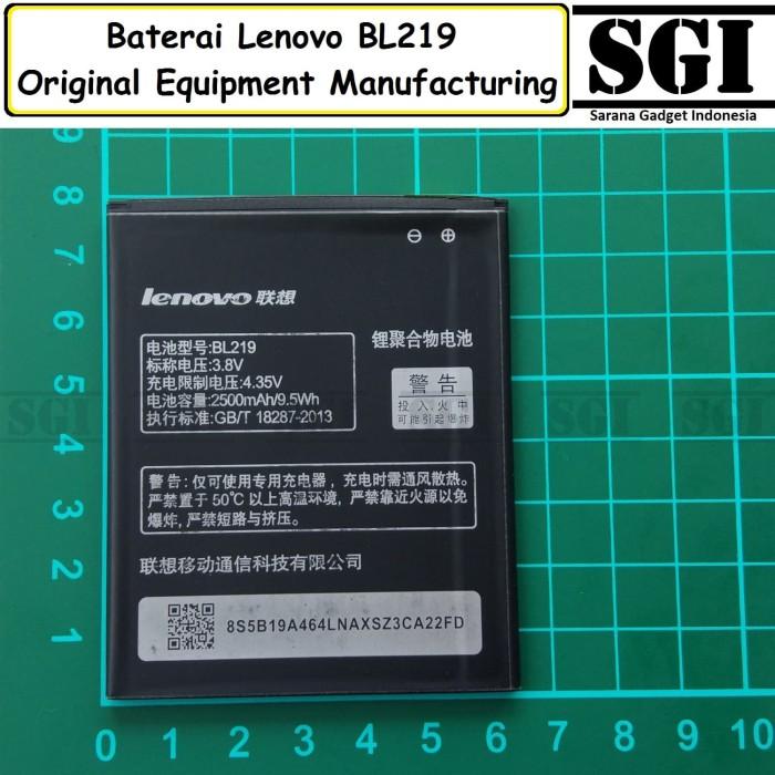 harga Baterai handphone lenovo bl219 a916 original oem batre batrai hp Tokopedia.com