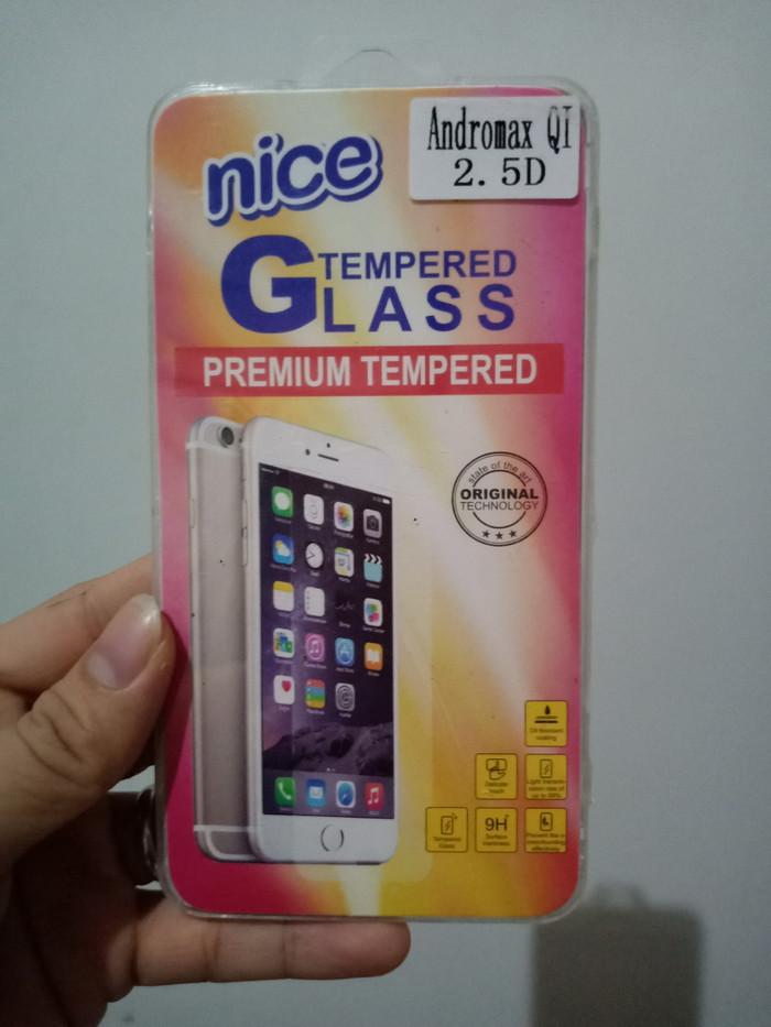 Jual Anti Gores Kaca Tempered Glass For Andromax Qi Star Com