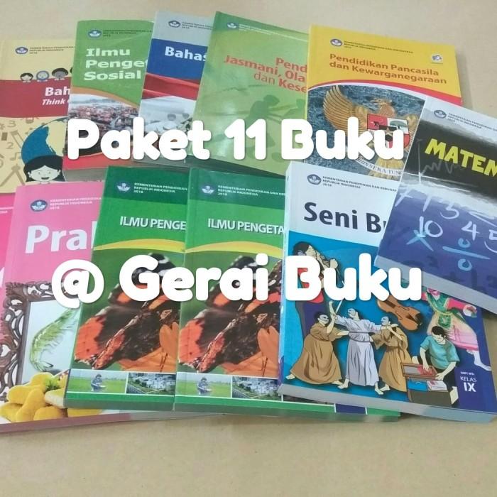 Foto Produk Paket 11 Buku Kelas 9 SMP Kurikulum 2013 Revisi Terbaru dari Gerai Buku Sekolah