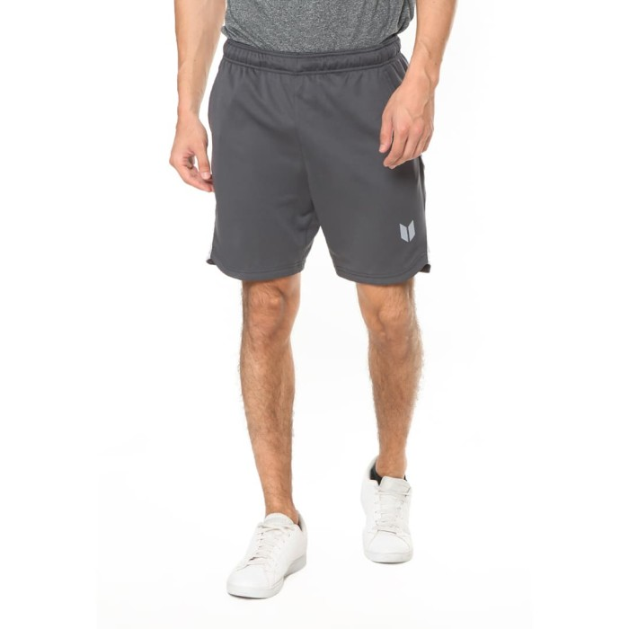 enzoro - celana olahraga pria alano shortss black pine - hitam xl