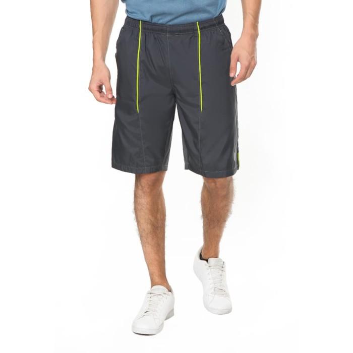 enzoro - celana olahraga pria ilario shorts - hitam l