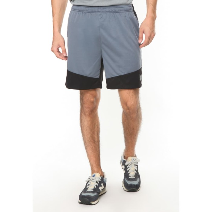 enzoro - celana olahraga pria vitola shorts light grey - abu-abu muda l