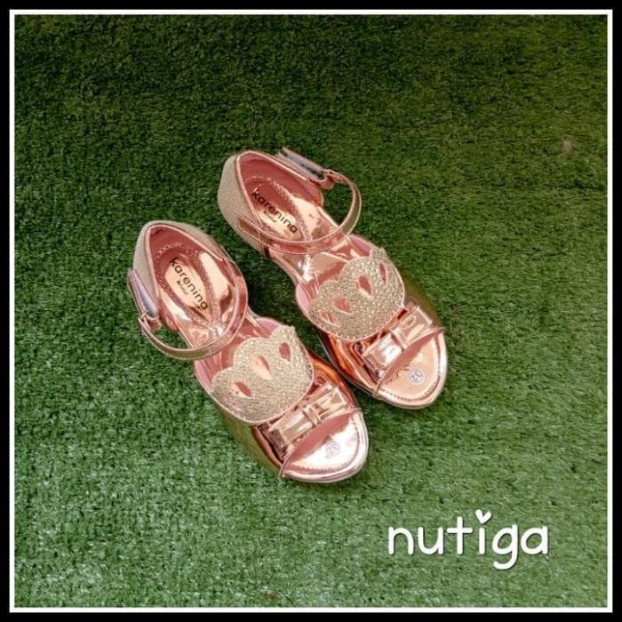 Jual Murah Christy Sepatu Sandal Wedges Pesta Anak Blink-Blink Mewah ... 55fc785029