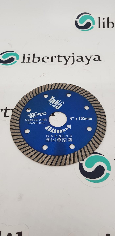harga Toho diamond wheel 4  turbo mata potong granit keramik batu alam Tokopedia.com