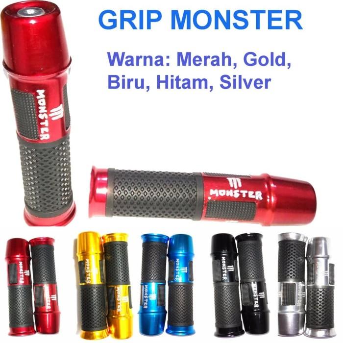 harga [aksesoris motor] hand grips cover karet gas anti slip - grip model mo Tokopedia.com