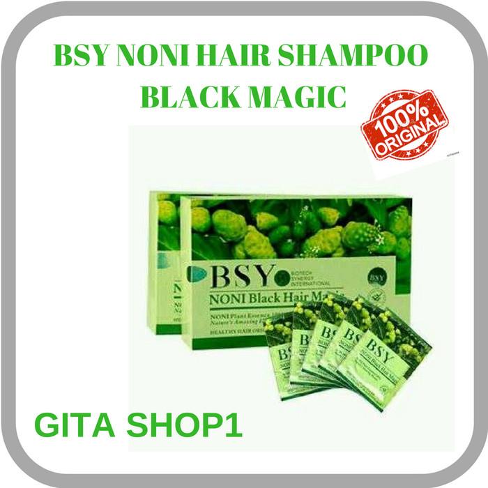 BSY Noni Shampoo Hair Magic, Herbal,Original, BPOM, Halal