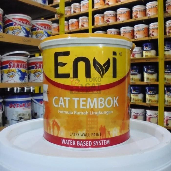 harga Cat tembok envi 5 kg - cat wangi Tokopedia.com