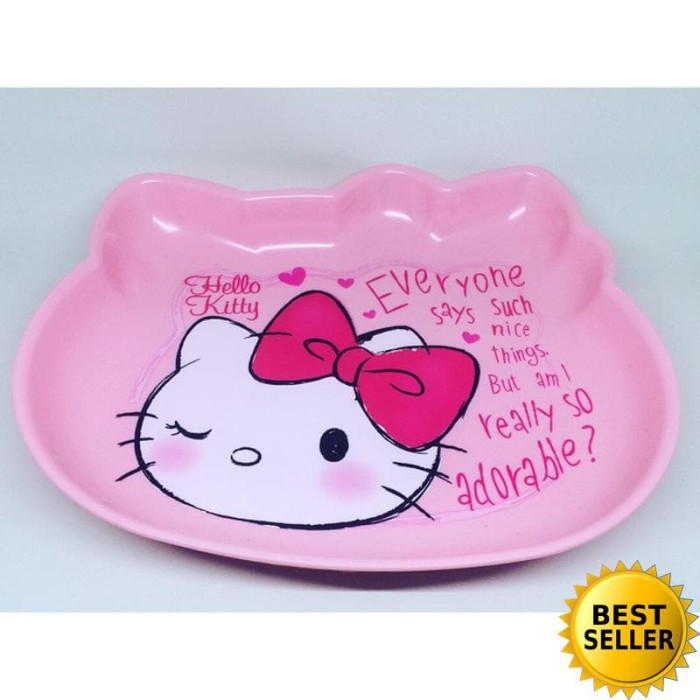 Piring Hello Kitty Melamin Besar by Technoplast