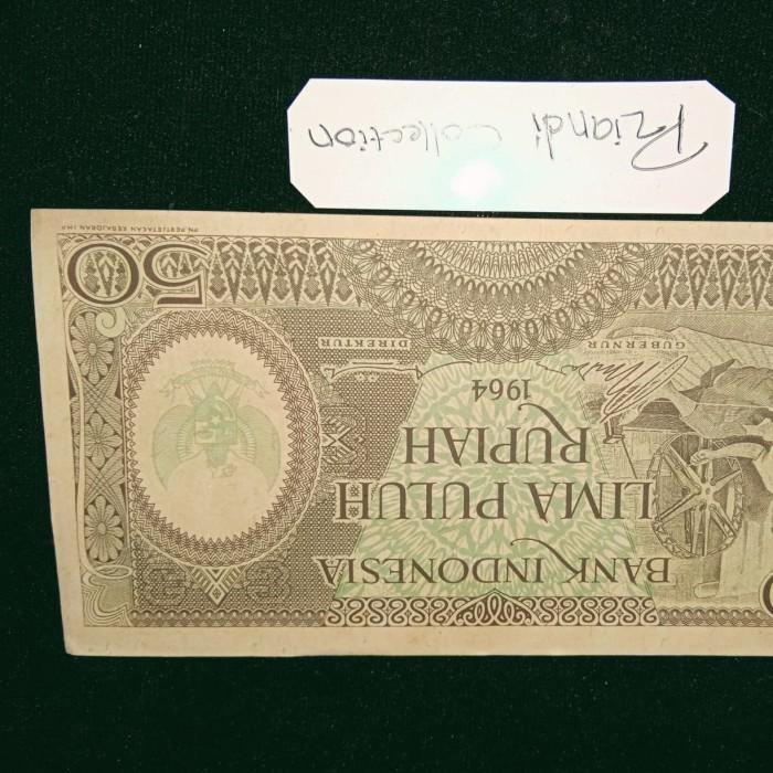 harga Uang Kuno Indonesia 50rp Pekerja Tahun 1964 Tokopedia.com