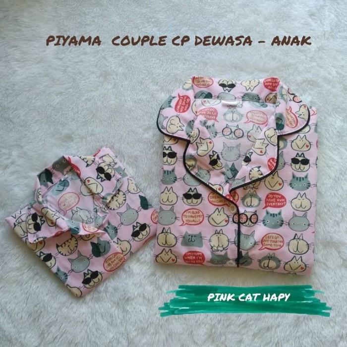 Jual Baju Piyama Couple Pink Cat Happy Ibu Dan Anak Anak M Kota Tasikmalaya Pasar Tasik Tokopedia