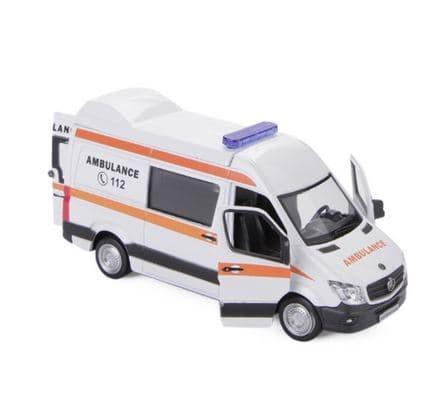 harga Diecast mercedes benz sprinter ambulance Tokopedia.com