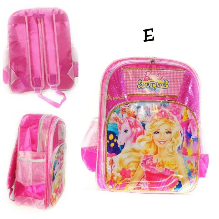 harga Tas ransel barbie sd anak perempuan tebal awet murah muat banyak Tokopedia.com