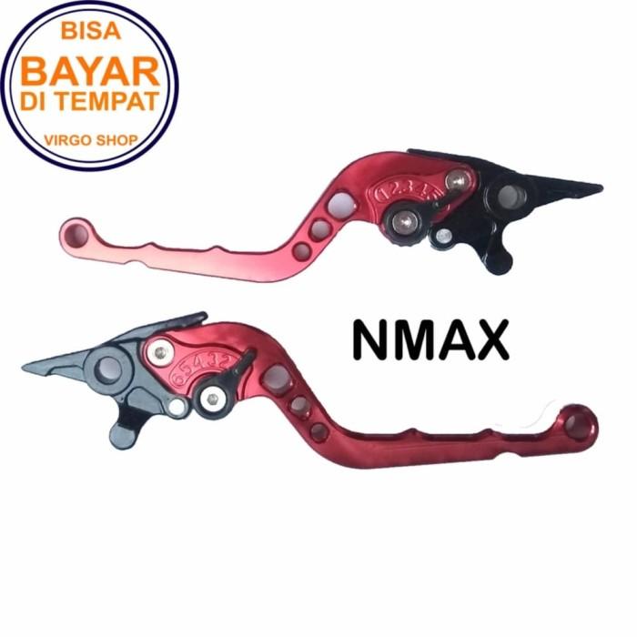 harga Aksesoris Nmax Handle Rem Variasi Motor Full Cnc Nmax Blanja.com