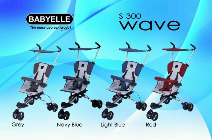 harga Kereta baby elle wave s 300 dorongan anak stroller roda 3 Tokopedia.com