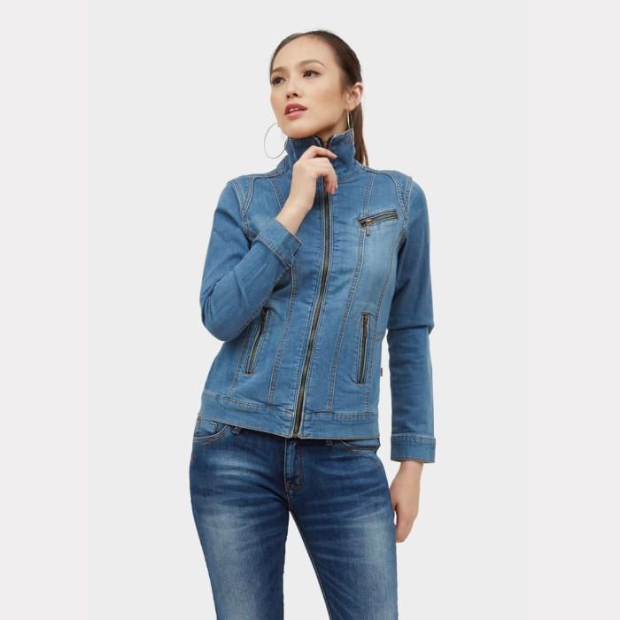 harga Ako jeans jaket denim (11-0219) - biru s Tokopedia.com