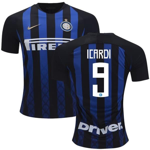 online store 2faac 6ebaa Jual Jersey Baju Bola Mauro ICARDI #9 Inter Milan Home 2018-2019 Grade Ori  - DKI Jakarta - Giovinco | Tokopedia