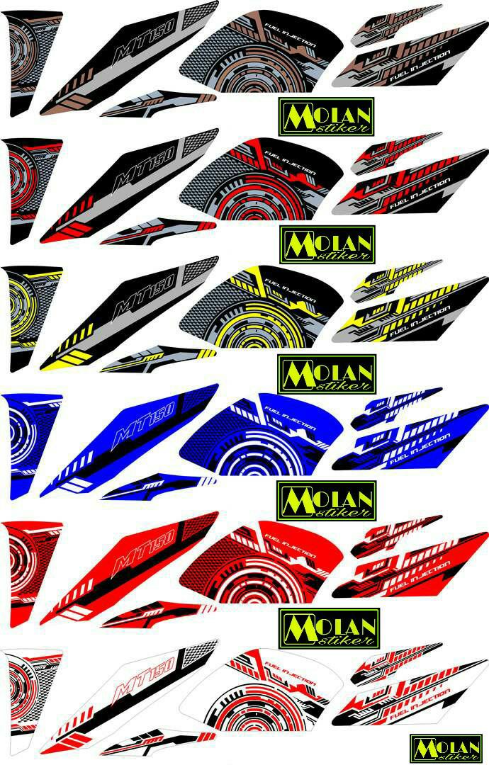 58 Gambar Cutting Sticker Vixion Advance Terbaru