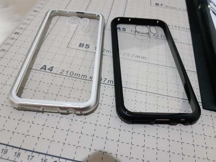 Foto Produk Samsung galaxy S7 Flat Premium 2 in 1 magnetic phone case -Transparant dari importking