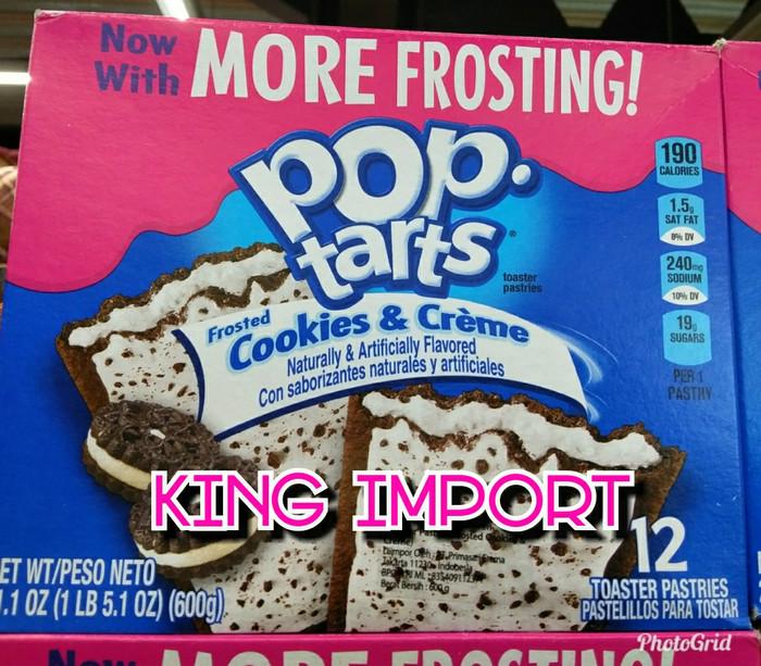 harga Kellogs pop tarts isi 12 cookies & creme blueberrystrawberry Tokopedia.com