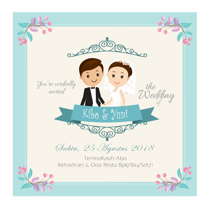 15+ Trend Terbaru Kartu Ucapan Pernikahan Kosong ...