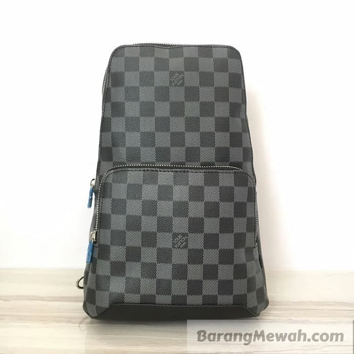 Jual TAS LOUIS VUITTON AVENUE SLING BAG DAMIER GRAPHITE ... 3fad63fd1d