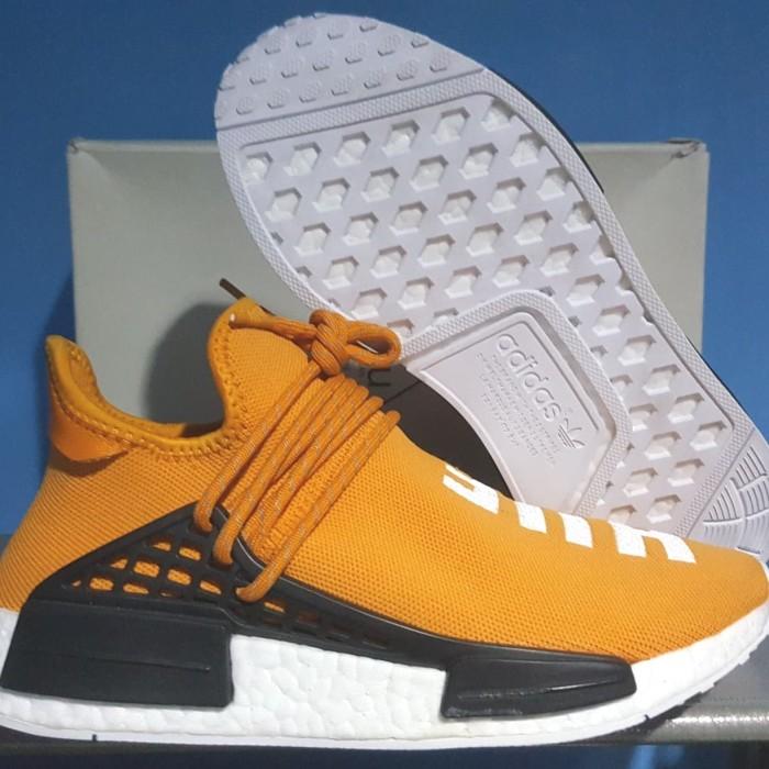 079cface8 Adidas NMD X Pharrell William Human Race Tangerine 100% Authentic US 8 -  Orange