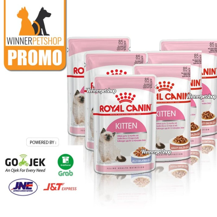 Royal Canin Adult Instictive In Jelly Pouch 12 X 85gr