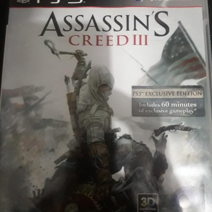 Jual Bd Kaset Ps3 Assassin S Creed Assassin Creed 3 Iii Kota
