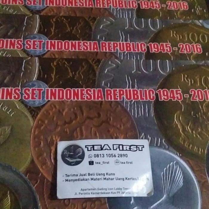 harga UANG KUNO SET KOIN INDONESIA 1945-2016 Tokopedia.com